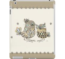 Brown Paper Birds iPad Case/Skin