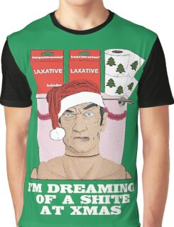 I'm Dreaming of A Shite At Xmas! Graphic T-Shirt