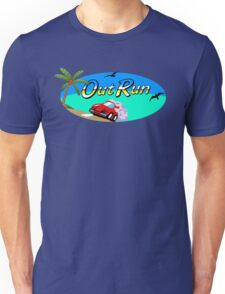 OUT RUN SEGA ARCADE 80s Unisex T-Shirt