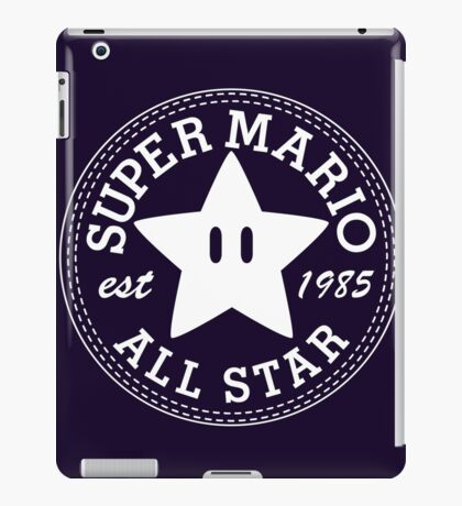 Super Mario Allstar (Converse) iPad Case/Skin