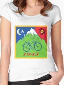 Albert Hofmann Bikeride LSD Women's Fitted Scoop T-Shirt