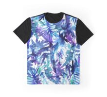 Vibe of the Jungle Blue Graphic T-Shirt