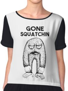 Gone Squatchin Chiffon Top