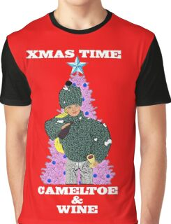 Christmas Time - Camel Toe & Wine!! Graphic T-Shirt