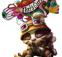 Teemo - League of Legends by SirAngio10