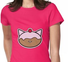Meow pastry Womens Fitted T-Shirt