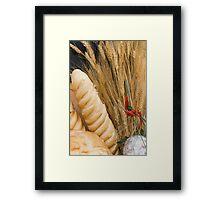 bread basket Framed Print