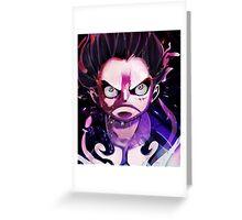 Luffy - One Piece - Gear 4 Greeting Card