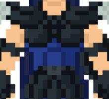 Black Dragon - Saint Seya Pixel Art Sticker