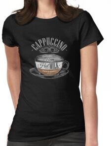 Cappuccino Womens Fitted T-Shirt
