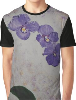 Orchids on a Stem Graphic T-Shirt