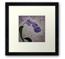 Orchids on a Stem Framed Print