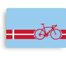 Bike Stripes Danish National Road Race Canvas Print