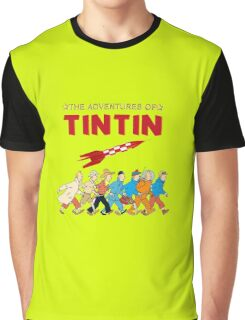 adventure of tintin Graphic T-Shirt