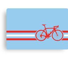 Bike Stripes Austria v2 Canvas Print