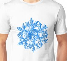 Snowflake vector - Gardener's dream white version Unisex T-Shirt