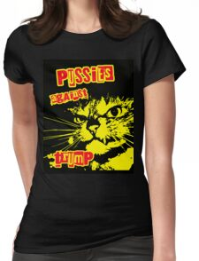 Meow Pussies against Trump Womens Fitted T-Shirt