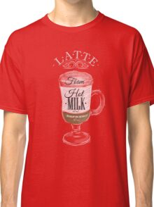 Latte Coffee Classic T-Shirt
