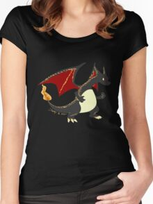 Best dragon not dragon Women's Fitted Scoop T-Shirt