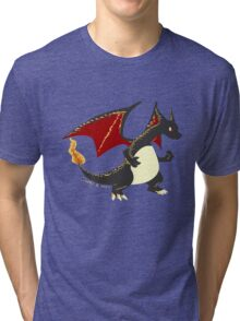 Best dragon not dragon Tri-blend T-Shirt