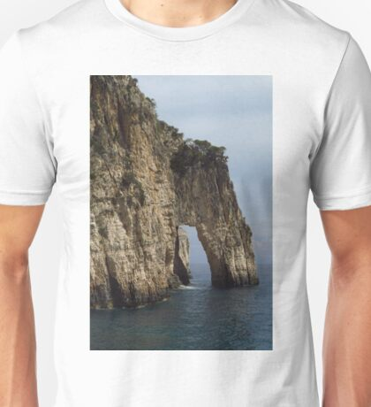 The Arch, Keri Caves, Zakynthos Unisex T-Shirt