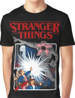 Stranger Things Animated Series Graphic T-Shirt
