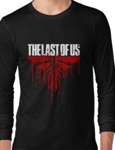 last of us - blood Long Sleeve T-Shirt
