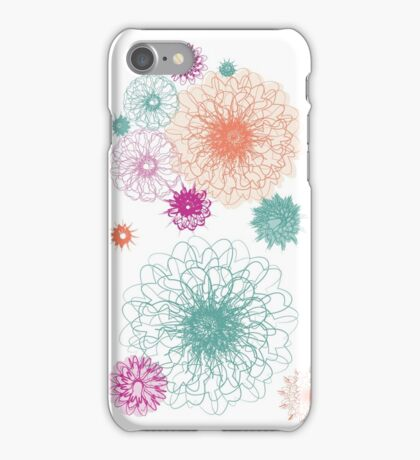 Floral Vector Pattern iPhone Case/Skin