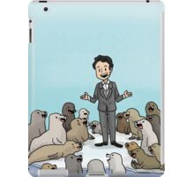jimmy and seals iPad Case/Skin