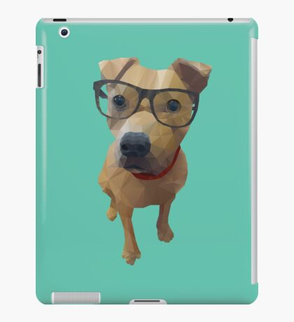 Kane the Staffie Dog Polygon Art iPad Case/Skin