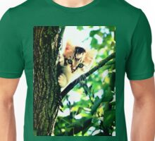 Kitten into the woods Unisex T-Shirt