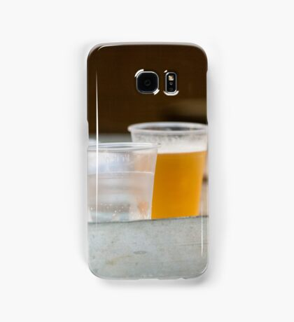 glass of beer Samsung Galaxy Case/Skin