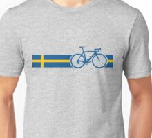 Bike Stripes Swedish National Road Race Unisex T-Shirt