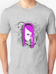 Emo Girl Graphic Unisex T-Shirt