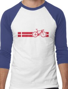 Bike Stripes Danish National Road Race Men's Baseball ¾ T-Shirt