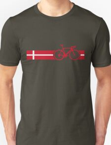 Bike Stripes Danish National Road Race Unisex T-Shirt