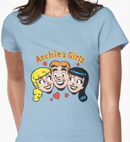 archie girls Womens Fitted T-Shirt