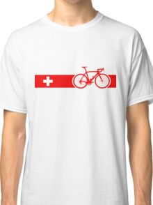 Bike Stripes Switzerland Classic T-Shirt