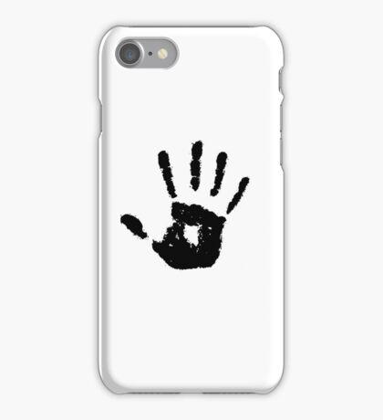 The Elder Scrolls - Dark Brotherhood Symbol (Black) iPhone Case/Skin