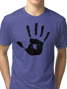 The Elder Scrolls - Dark Brotherhood Symbol (Black) Tri-blend T-Shirt