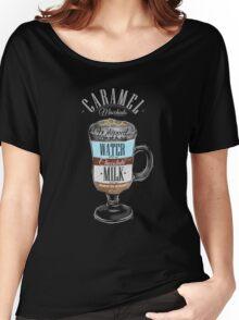 Caramel Macchiato Coffee Women's Relaxed Fit T-Shirt