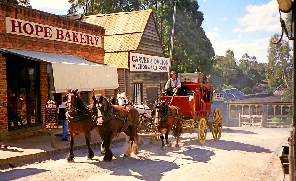 Hope Bakery - Sovereign Hill by TonyCrehan