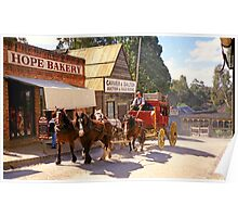 Hope Bakery - Sovereign Hill Poster