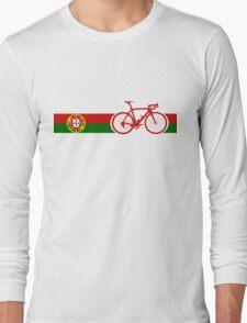 Bike Stripes Portugal  Long Sleeve T-Shirt