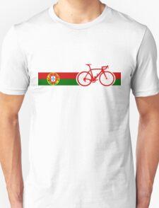 Bike Stripes Portugal  T-Shirt