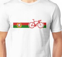 Bike Stripes Portugal  Unisex T-Shirt
