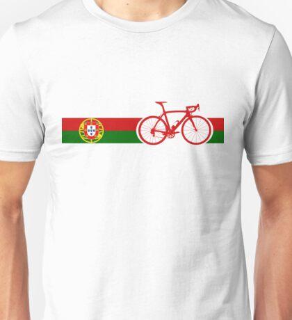 Bike Stripes Portugal  Unisex T-Shirt