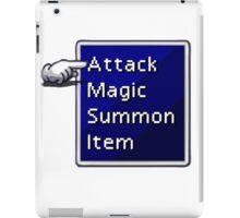 Final Fantasy Menu iPad Case/Skin