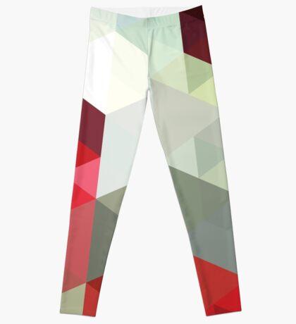 geometric colorful leggins Leggings