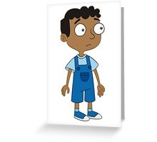 Baljeet Phineas and Ferb Greeting Card